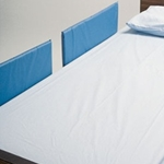 Split-Rail Vinyl Bed Rail Pads, 4/pk