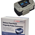 Pulse Oximeter Deluxe Four-Point Finger Tip