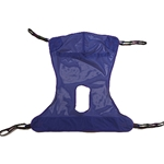 Sling, Full Body Mesh Sling with Commode Opening - Extra-Large
