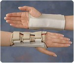 Wrist-Hand Brace Dorsal, Right, Small