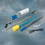 "complete hip replacement kit complete hip replacement kit with 32"" (81cm) reacher"