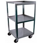 stainless steel carts: three-shelf cart - three-shelf cart, 14