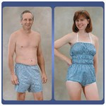 dipsters hydrotherapy wear dipsters for women. size: medium (10–12)